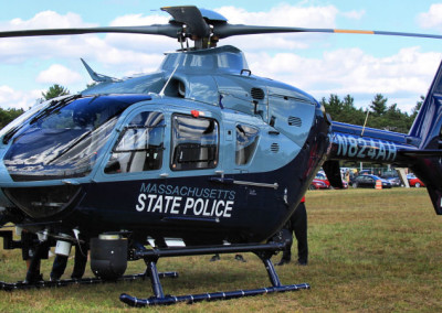 State Police Helicopter, Photo Credit: Gene Harriman